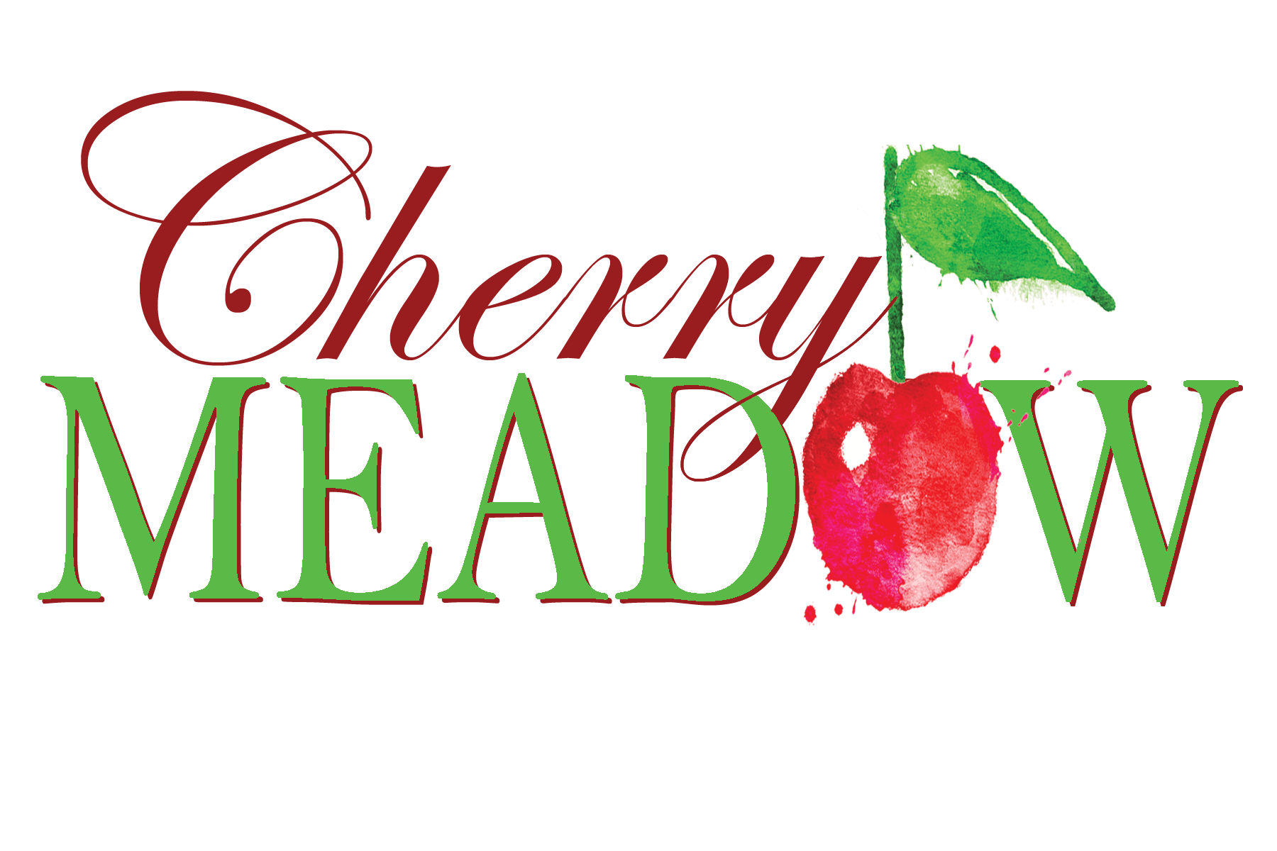 Cherry Meadow Winery Logo Branding Design Cedar Rapids Iowa